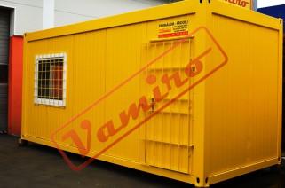 Obytný kontejner - REPASOVANÝ NA OBJEDNÁVKU - Obytný kontejner - buňka 2,45m / obytná buňka