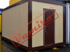 Obytný kontejner - REPASOVANÝ NA OBJEDNÁVKU - Starší obytný kontejner v rozměru 6 x 3 m