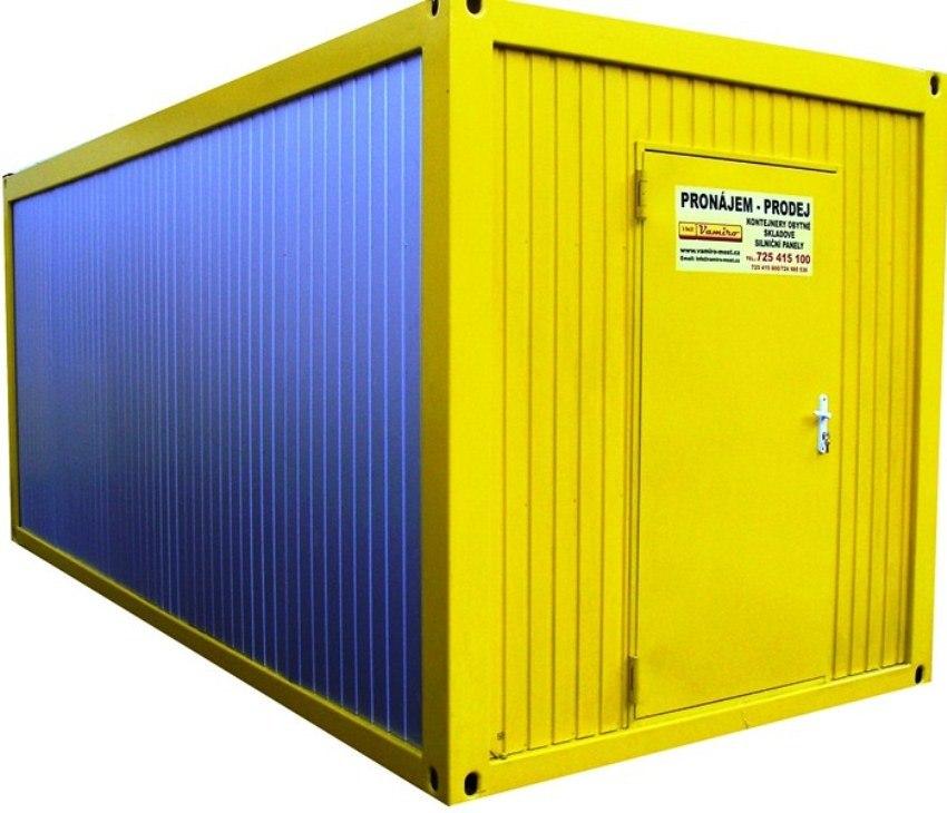 obytný kontejner pronájem